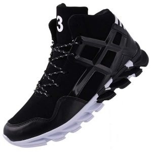Joomra Men's Stylish Sneakers High Top Athletic