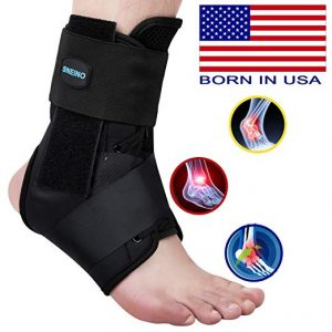 Sneino Ankle Brace, Lace Up Ankle Brace for Women